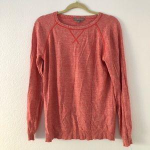 Neiman Marcus Cashemere Collection Sweater Coral L